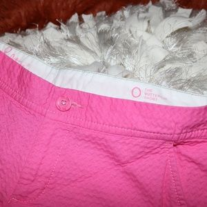 Lilly Pulitzer Pink Buttercup Scalloped Shorts